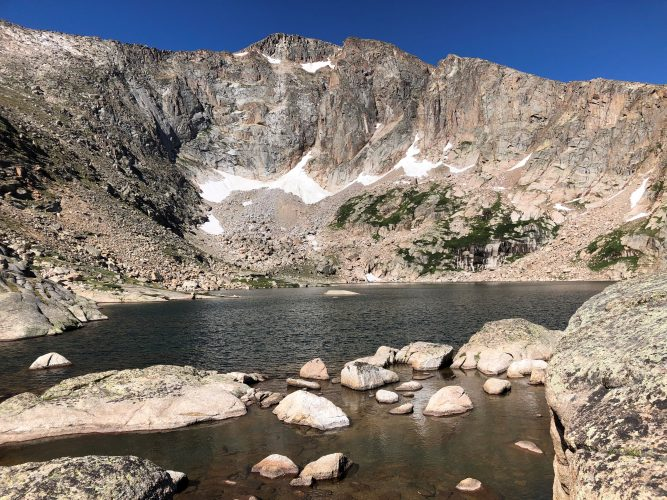 Crystal Lakes in Rocky Mountain National Park